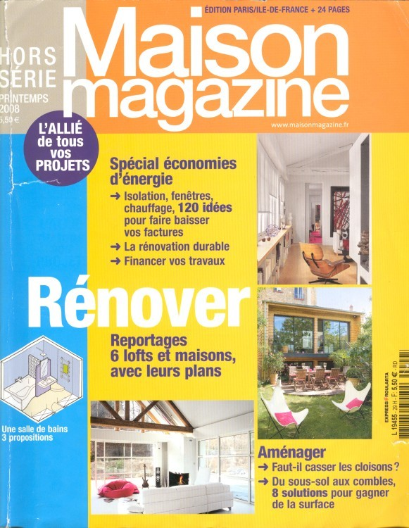 maison et travaux magazine n12 avrmaijun maison u0026. Black Bedroom Furniture Sets. Home Design Ideas